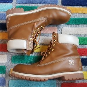 Timberland Premium Leather Boots Mens 12